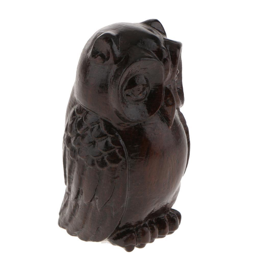 miniatura 15 - Statua Buddista Figurina Artigianale Ornamenti Supporto Tavolo Legno