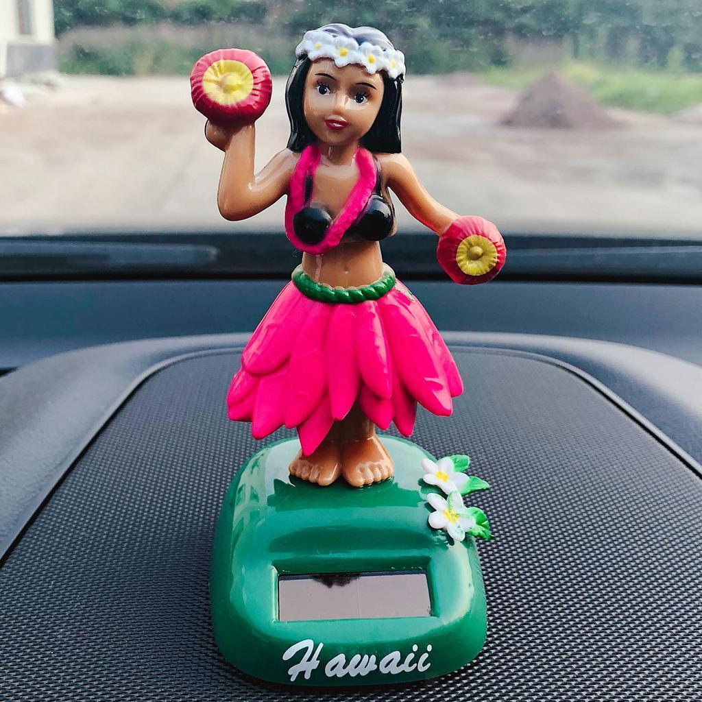 Solar-Power-Dancing-Hawaii-Girl-Dancer-Toy-Home-Office-Car-Dashboard-Decor thumbnail 13