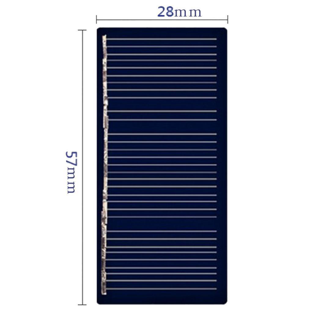 Mini Solar Cell Panel Module DIY Phone Light Lamp Toys ...