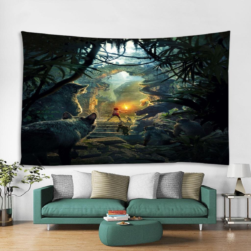 Details About Forest Tapestry Wall Hanging Decorations Dorm Decor Art Mat Rugs