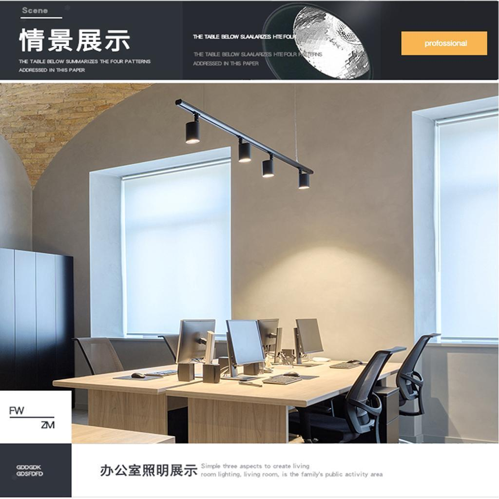 led 20w ceiling spotlight track lighting bar kitchen light
