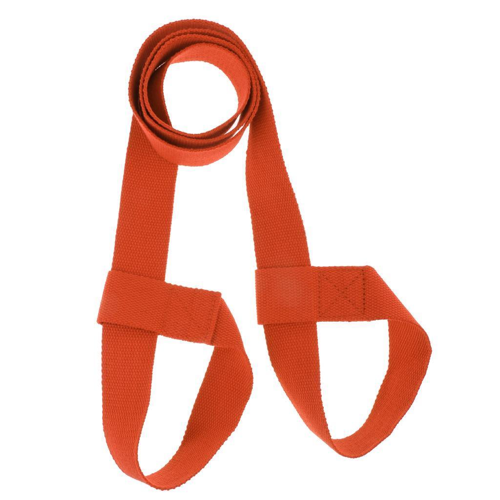 Sangle-de-Yoga-Ajustable-Ceinture-Harnais-de-Yoga-Extensible-avec-Boucle miniature 8