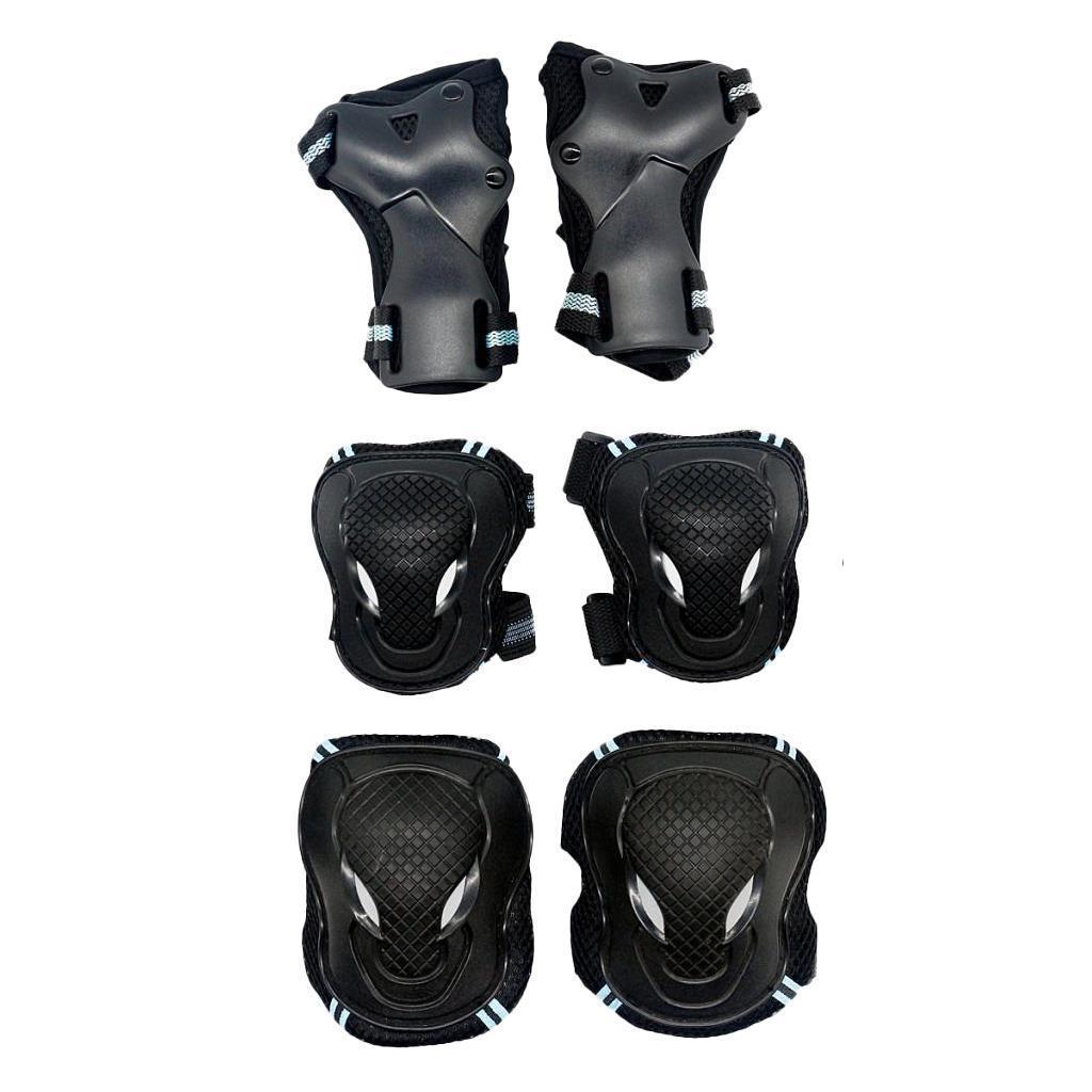 6-pezzi-per-bambini-adulti-ginocchiere-gomitiere-da-polso-e-protezioni-per miniatura 10