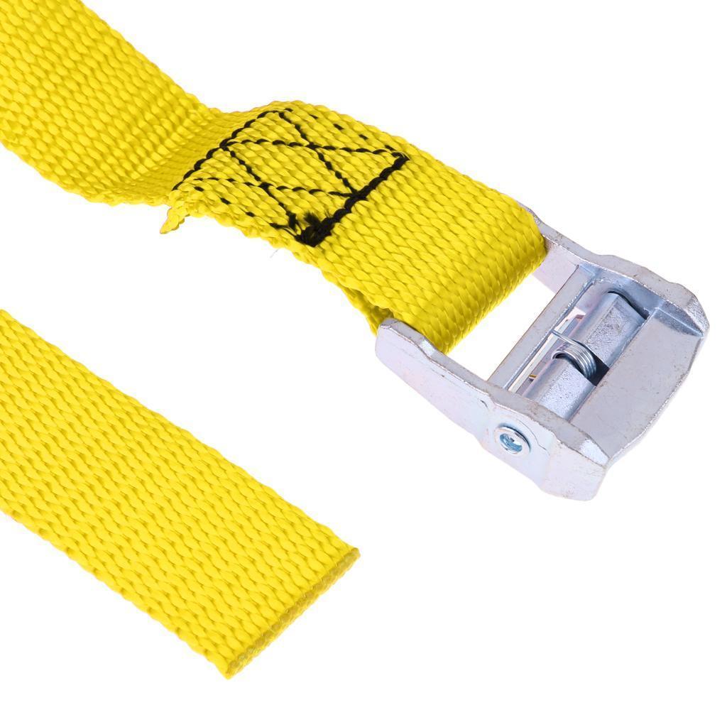 portapacchi-rimorchio-kayak-canoa-cravatta-cinghia-fibbia-in-metallo miniatura 4