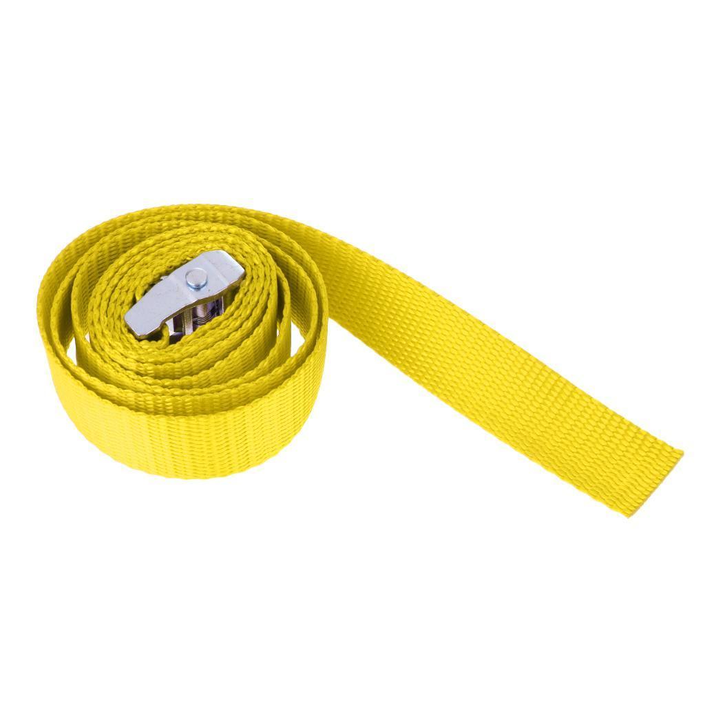 portapacchi-rimorchio-kayak-canoa-cravatta-cinghia-fibbia-in-metallo miniatura 5