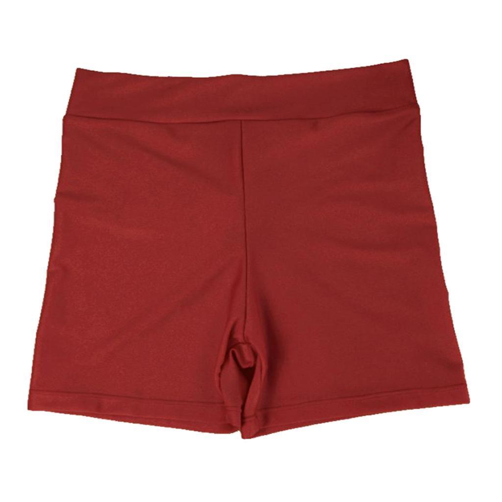 Ladies-Girls-Gym-Stretchy-Spandex-Plain-Shorts-Hot-Pants-Gym-Cycling-Under-Wear thumbnail 23