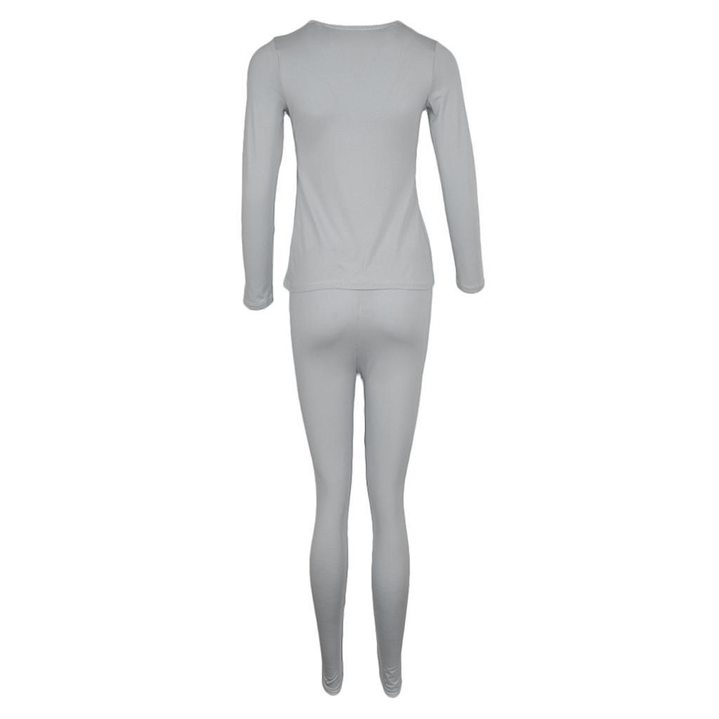 Modal Maternity Thermal Underwear Set Nursing Top /& Pregnancy Legging Pants