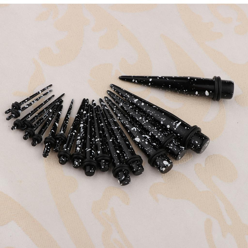 18-pezzi-Guarnizioni-coniche-toriche-in-acrilico miniatura 4