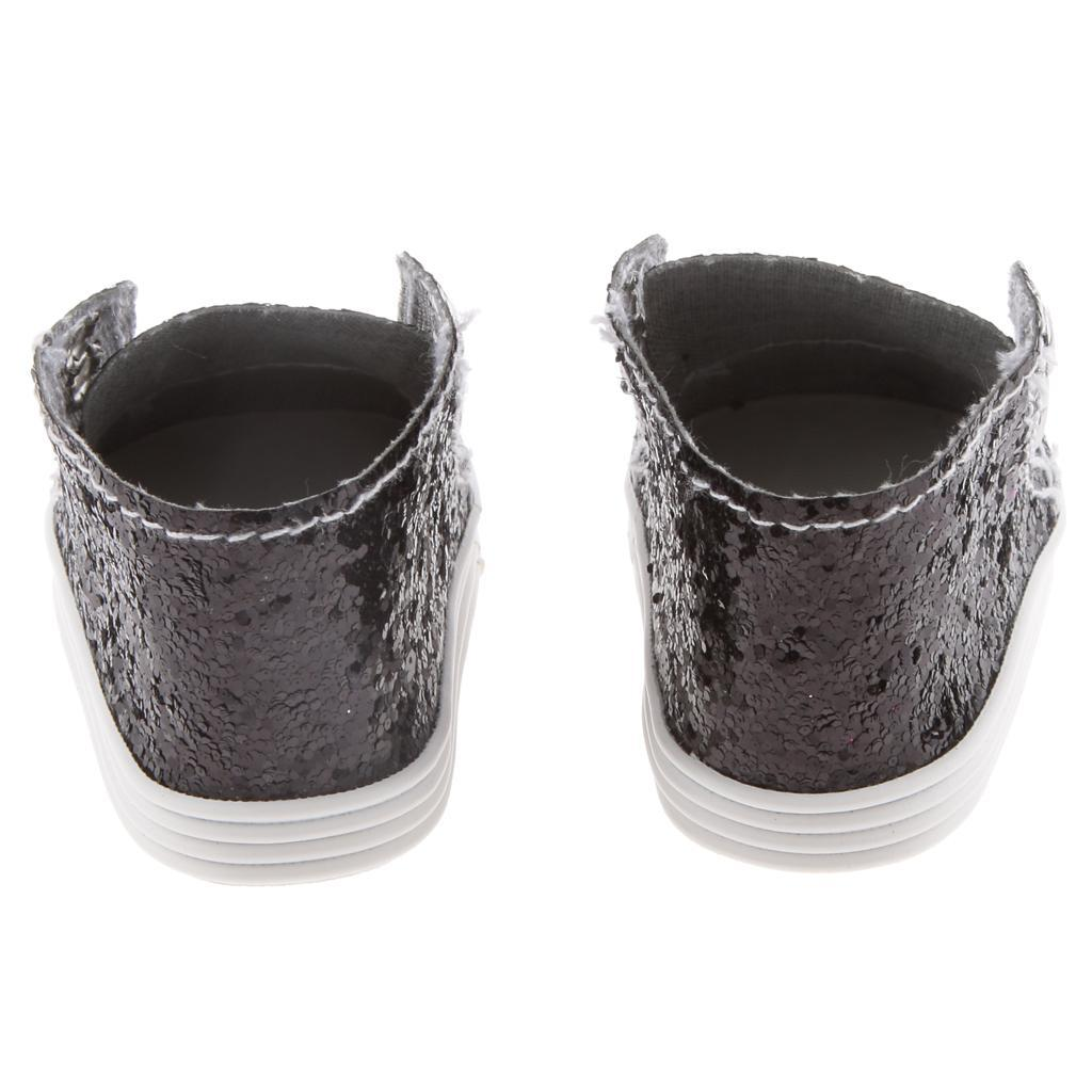 New-Cute-Pair-of-Doll-Shoes-for-18-039-039-American-doll-AG-Dolls-Clothes-Accessories thumbnail 31