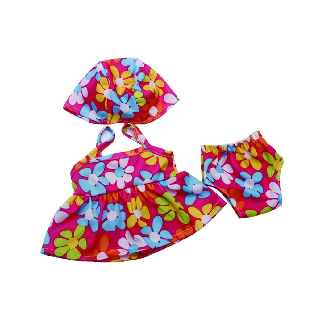 For-18-039-American-Doll-Doll-Generation-Doll-Clothes-Pajamas-Swimwear-Bikini-Shirt miniature 20