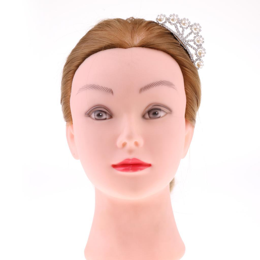 Princess-Crystal-Mini-Hair-Crown-Tiara-Hair-Comb-Girls-Woman-Wedding-Party-Gift thumbnail 61