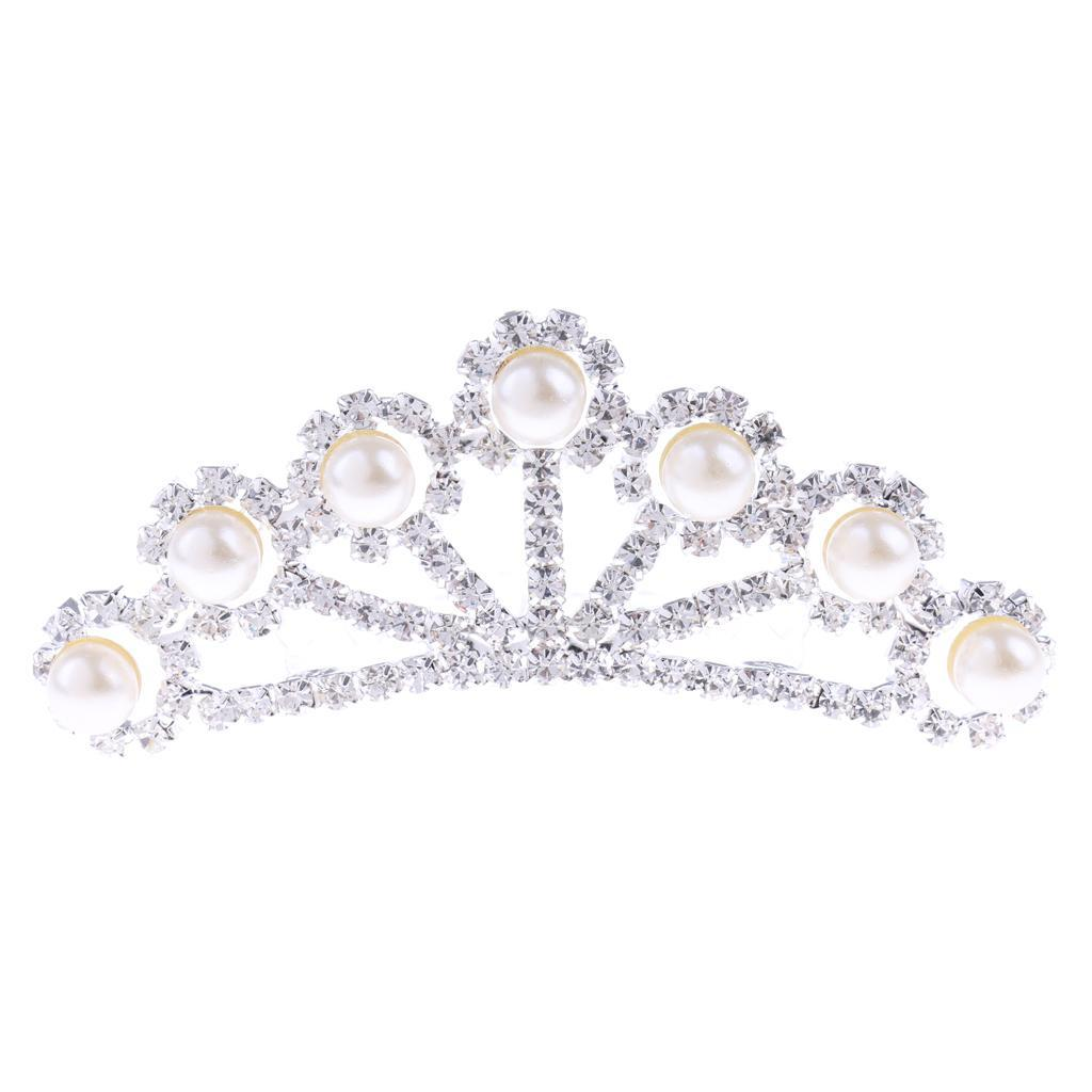 Crystal-Mini-Crown-Tiara-Girls-Woman-Fancy-Dress-Hair-Comb-Wedding-Party-Gift thumbnail 22