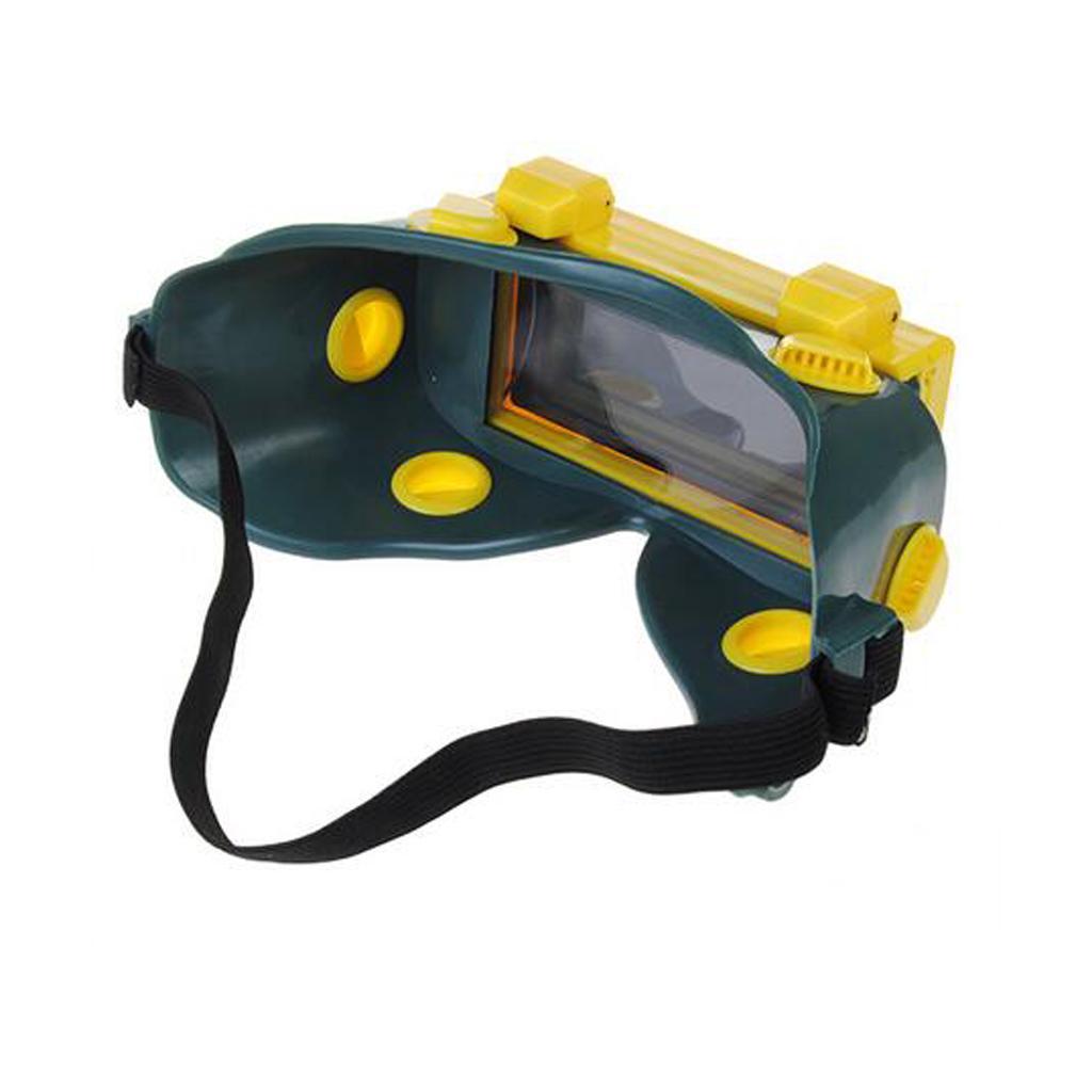 Auto Darkening Welding Goggles Solar Welder Mask Flip Up Lens Eye Protection