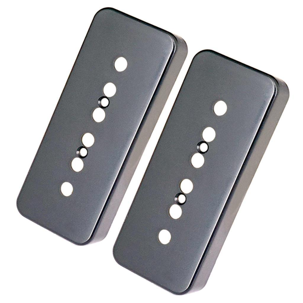 Set-of-2x-P90-Sopabar-Pickup-Covers-Single-Coil-for-Gibson-LP-Guitar-Parts thumbnail 10