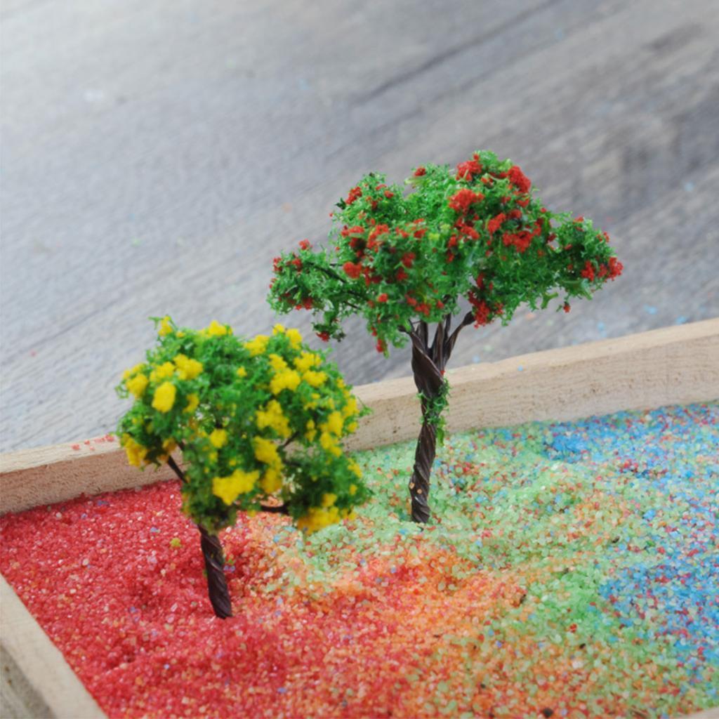 colore-decorativo-sabbia-per-matrimonio-miniascape-fai-da-te-arte-vaso miniatura 7