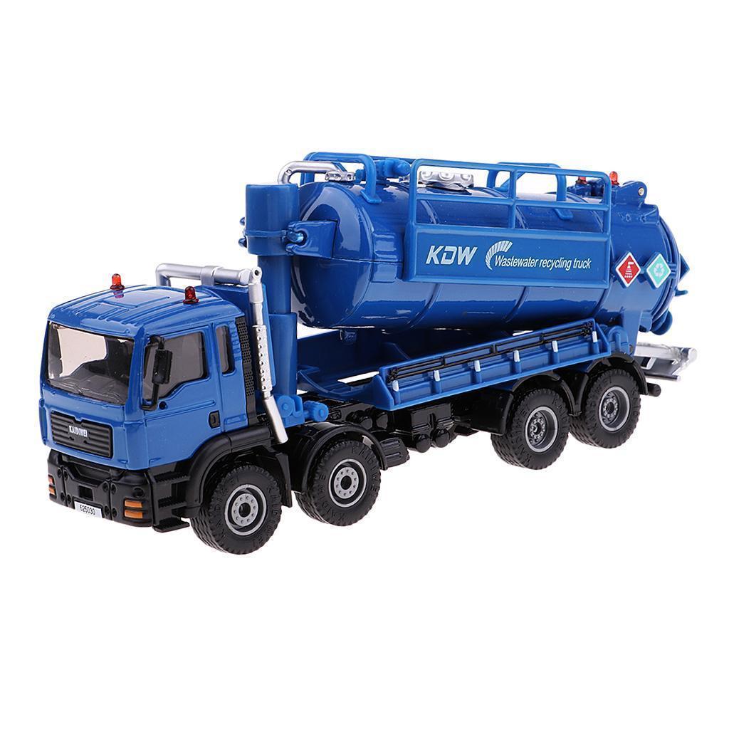 1-50-Camion-a-Ordures-Miniature-Petites-Voitures-en-Alliage-Cadeau-pour miniature 6