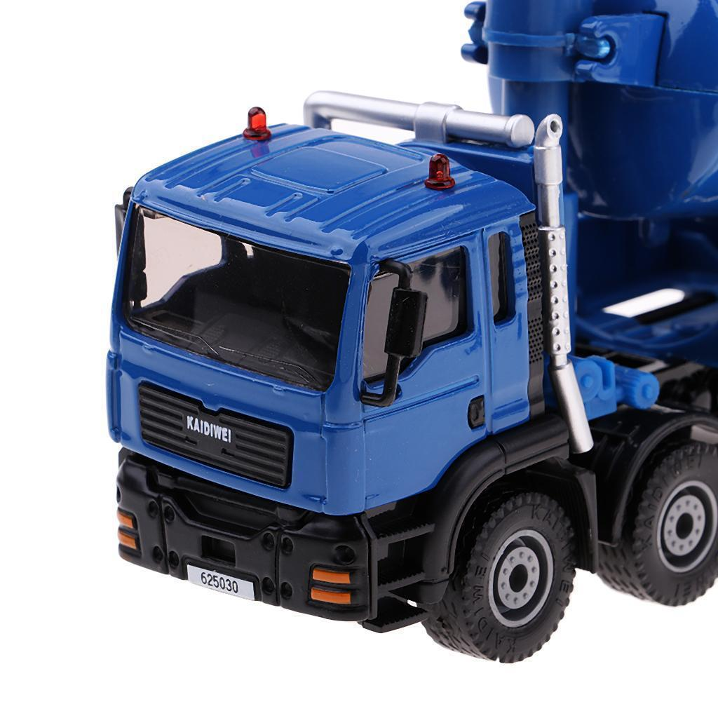1-50-Camion-a-Ordures-Miniature-Petites-Voitures-en-Alliage-Cadeau-pour miniature 3