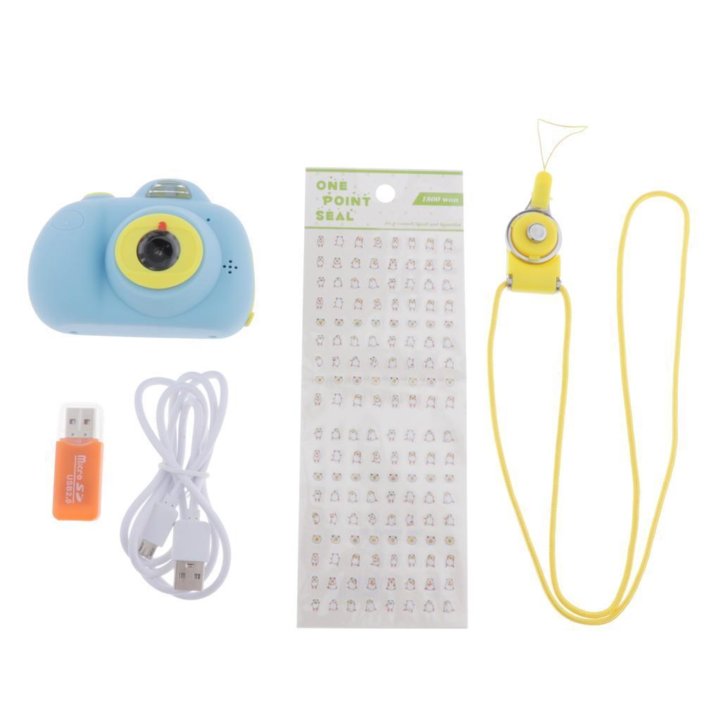 Fotocamera-ricaricabile-per-bambini-Doppia-fotocamera-per-bambini-con miniatura 8