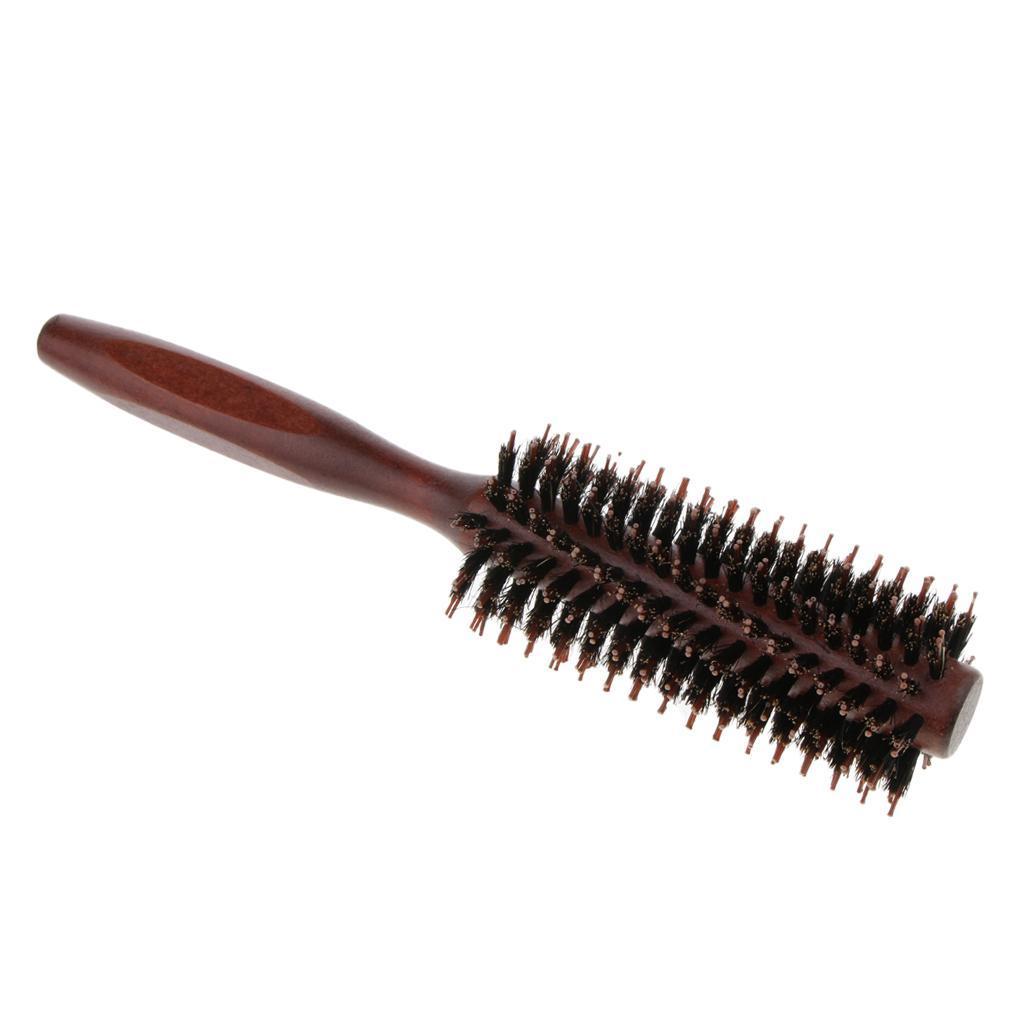 Brosse-a-Cheveux-Ronde-pour-Brushing-Round-Brush-Peigne-de-Coiffeur-de miniature 7