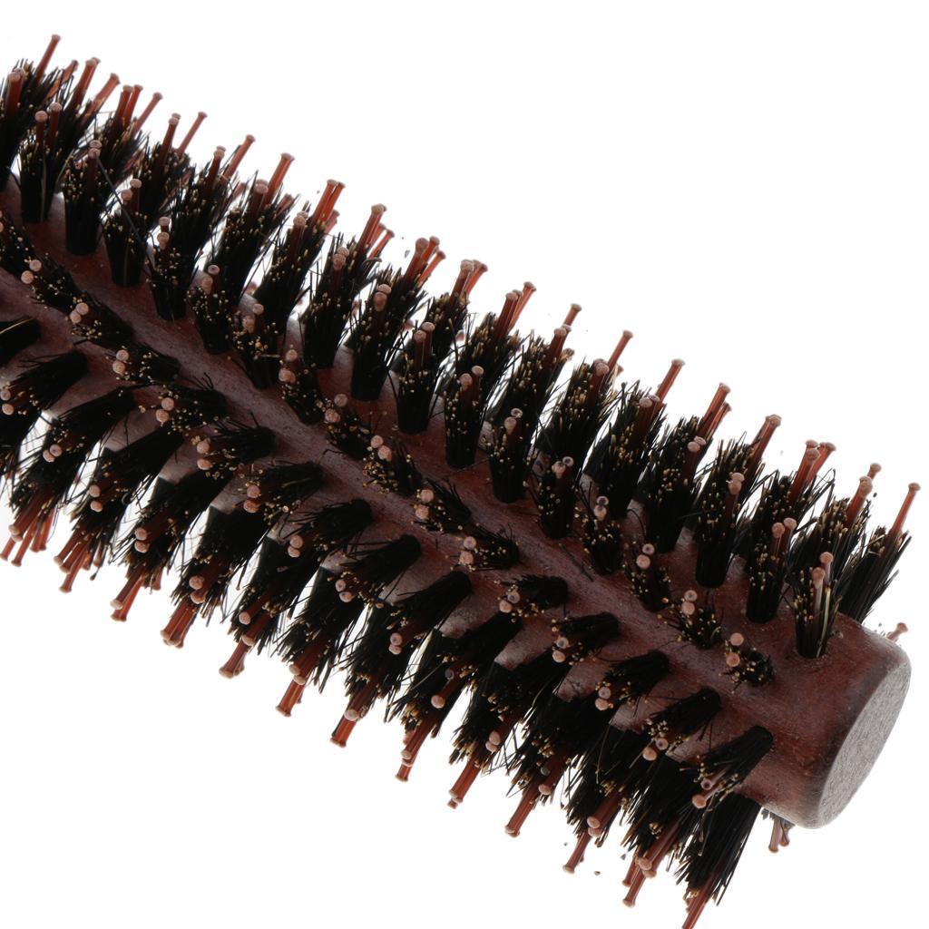 Brosse-a-Cheveux-Ronde-pour-Brushing-Round-Brush-Peigne-de-Coiffeur-de miniature 8