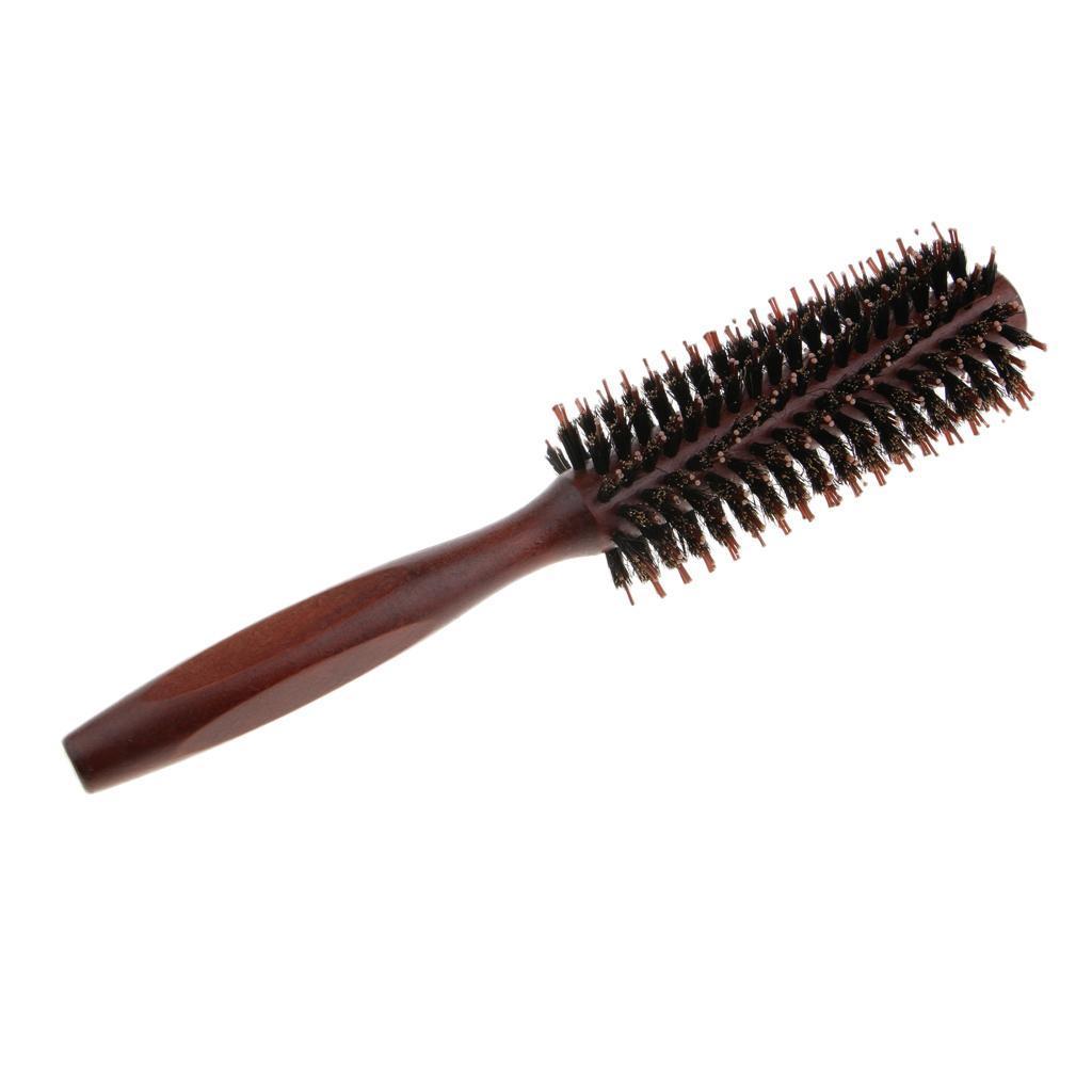 Brosse-a-Cheveux-Ronde-pour-Brushing-Round-Brush-Peigne-de-Coiffeur-de miniature 9