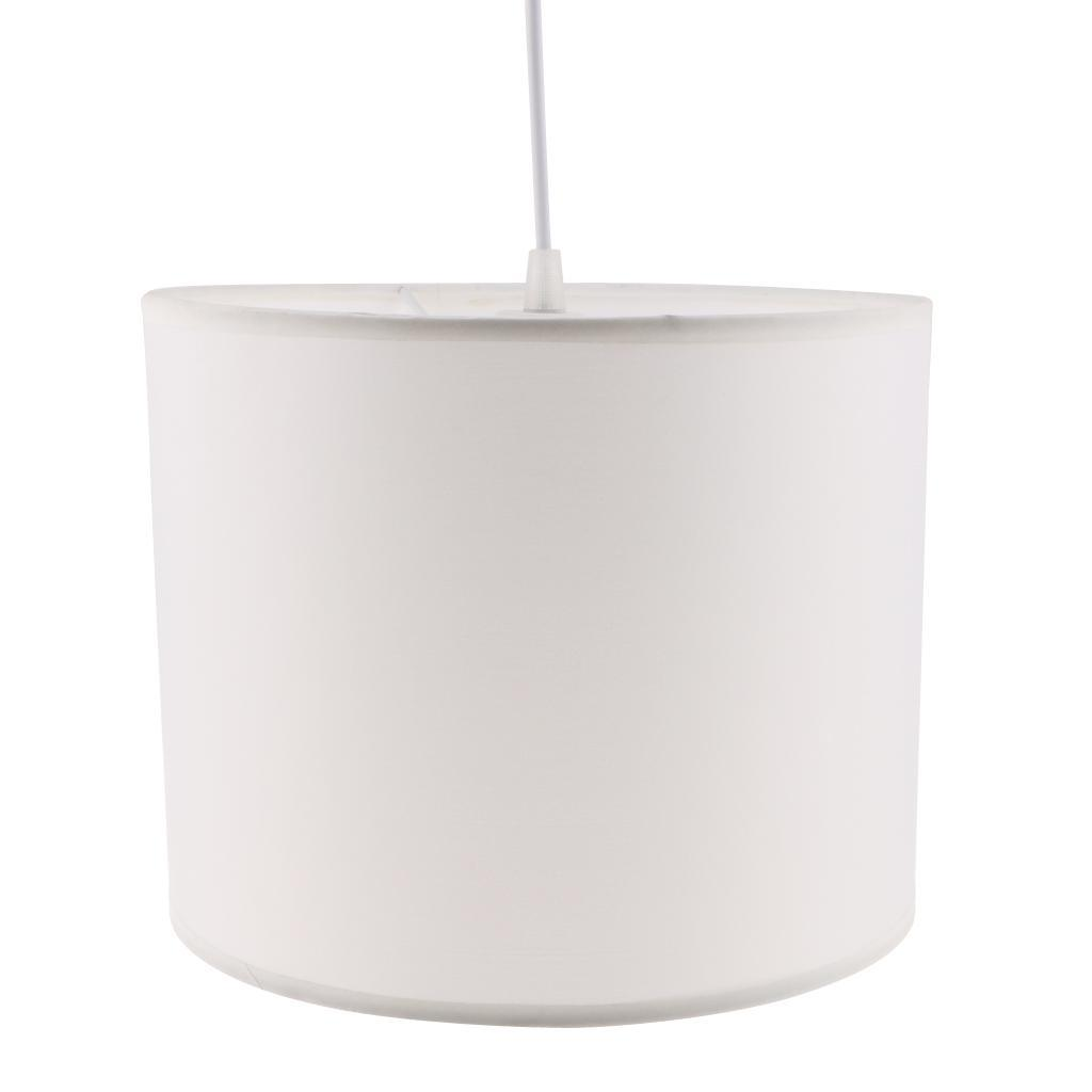 Cylindrical Ceiling Light Shade Cover Fabric Lampshade For