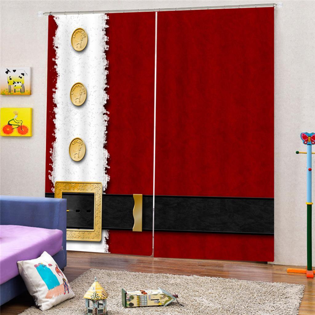 Möbel & Wohnen Sonstige Weihnachts-Thema Tulle Vorhang Polyester