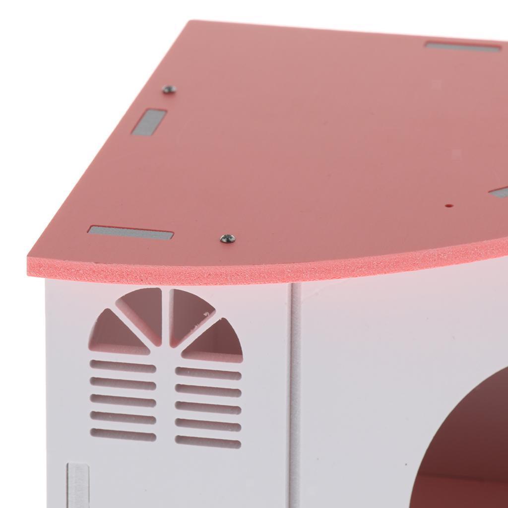 Cute-Hamster-House-Cage-for-Rat-Mouse-Nest-Net-Villa-FOR-Rat-Sleep-Rest miniature 3