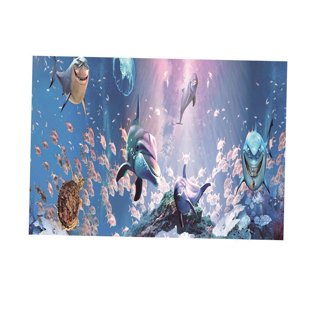 3D-High-Definition-Background-Paper-Wallpaper-Decor-for-Aquarium-Fish-Tank thumbnail 52