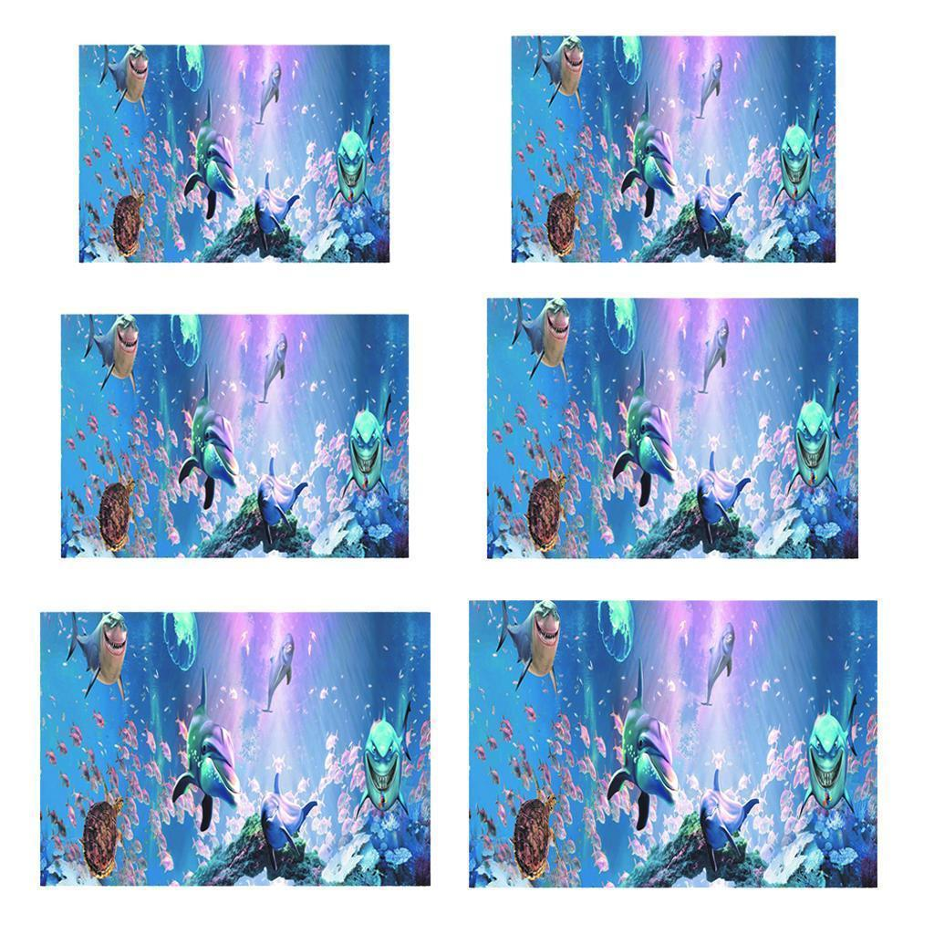 3D-High-Definition-Background-Paper-Wallpaper-Decor-for-Aquarium-Fish-Tank thumbnail 53