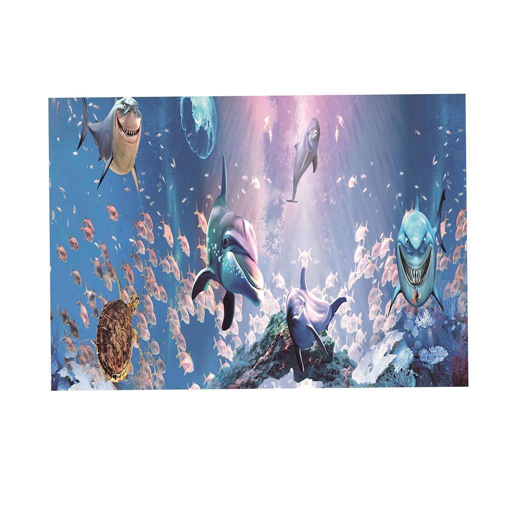 3D-High-Definition-Background-Paper-Wallpaper-Decor-for-Aquarium-Fish-Tank thumbnail 54