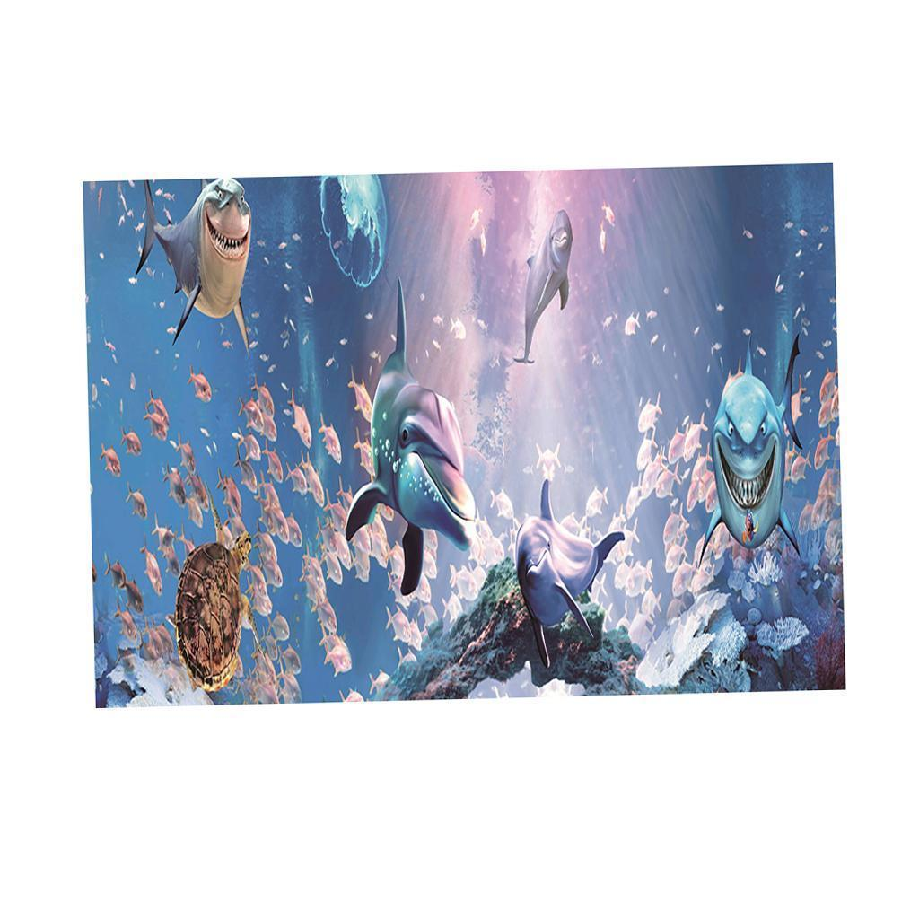 3D-High-Definition-Background-Paper-Wallpaper-Decor-for-Aquarium-Fish-Tank thumbnail 55