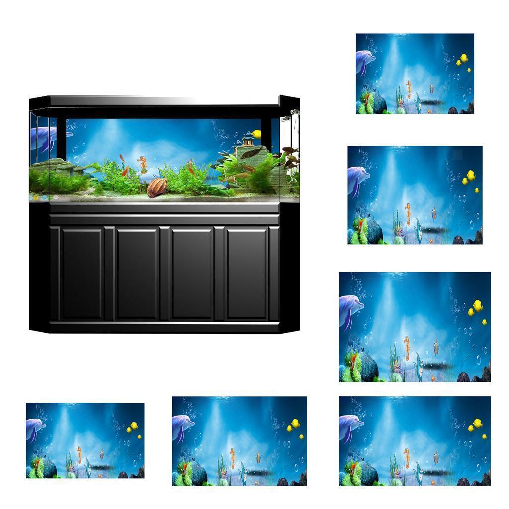 3D-High-Definition-Background-Paper-Wallpaper-Decor-for-Aquarium-Fish-Tank thumbnail 6