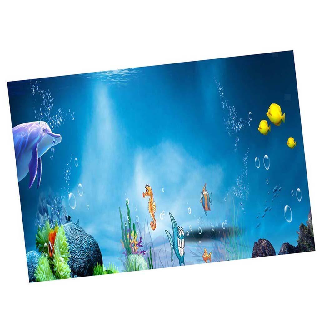 3D-High-Definition-Background-Paper-Wallpaper-Decor-for-Aquarium-Fish-Tank thumbnail 5