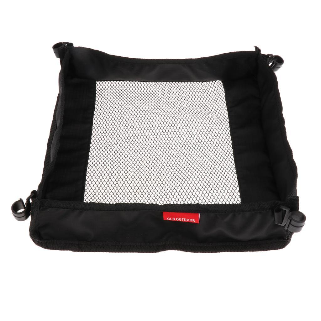 Outdoor-Picnic-Dining-Table-Organizer-Pouch-Storage-Bag-Foldable-Mesh-Bag thumbnail 7