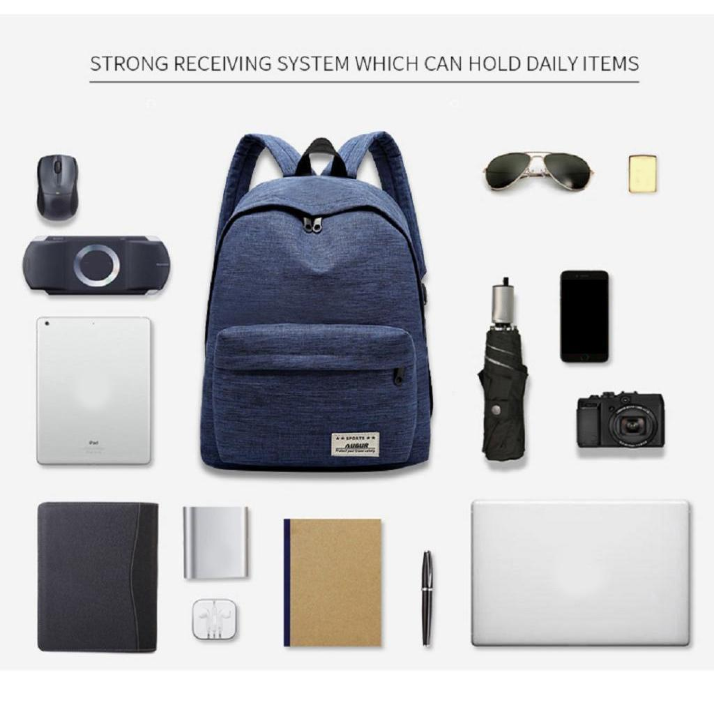 Travel-Sport-Backpack-Camping-School-Satchel-Laptop-Book-Bag-Hiking-Daypack thumbnail 6