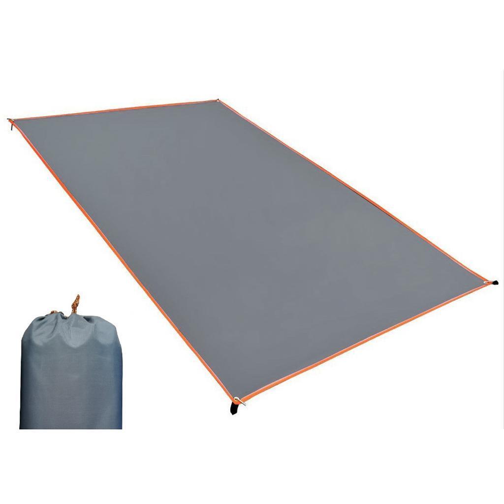Tenda-impermeabile-Tarp-Footprint-Camping-Ground-Sheet-per-escursionismo miniatura 23