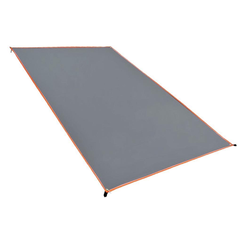 Tenda-impermeabile-Tarp-Footprint-Camping-Ground-Sheet-per-escursionismo miniatura 24