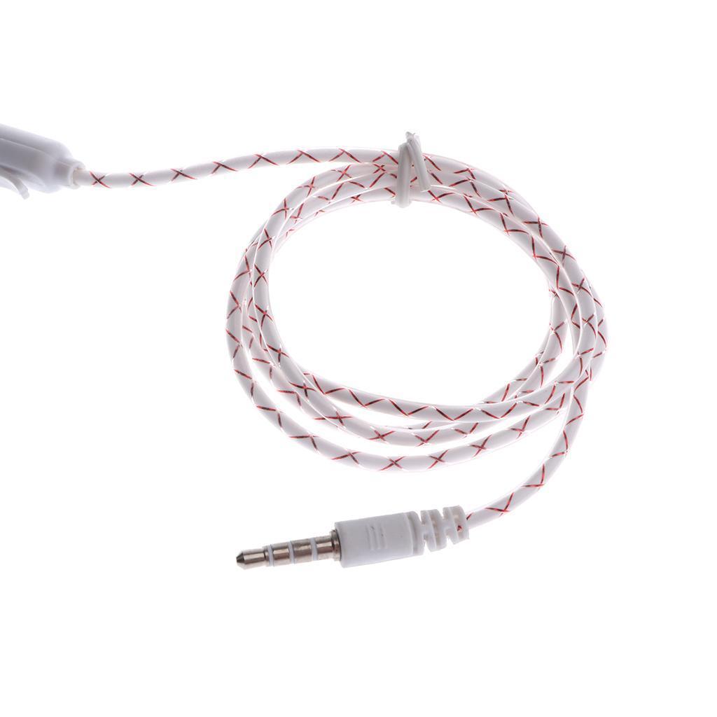 Ecouteurs-Lumineux-Prise-Audio-de-3-5-mm-Microphone-Compatible-avec miniature 4