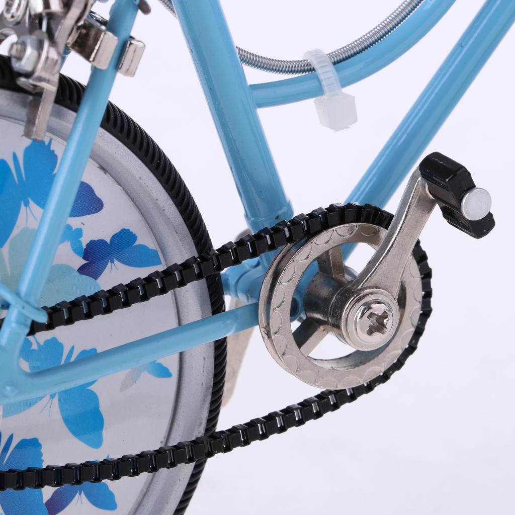 1:10 Alloy Bike Bicycle Model Doll House Miniature Furniture Garden Decor #2