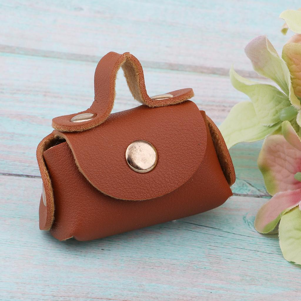 12inch-Doll-PU-Leather-Handbag-Bag-Purse-For-BJD-Doll-Clothes-Accessories thumbnail 12