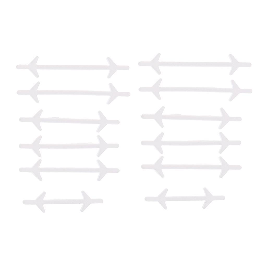 12pc-set-unisexe-sans-lacets-lacets-baskets-en-silicone-elastique miniature 13