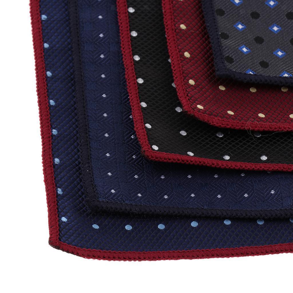 5pcs-fazzoletti-da-taschino-per-fazzoletti-da-uomo-Fazzoletti-decorativi miniatura 15