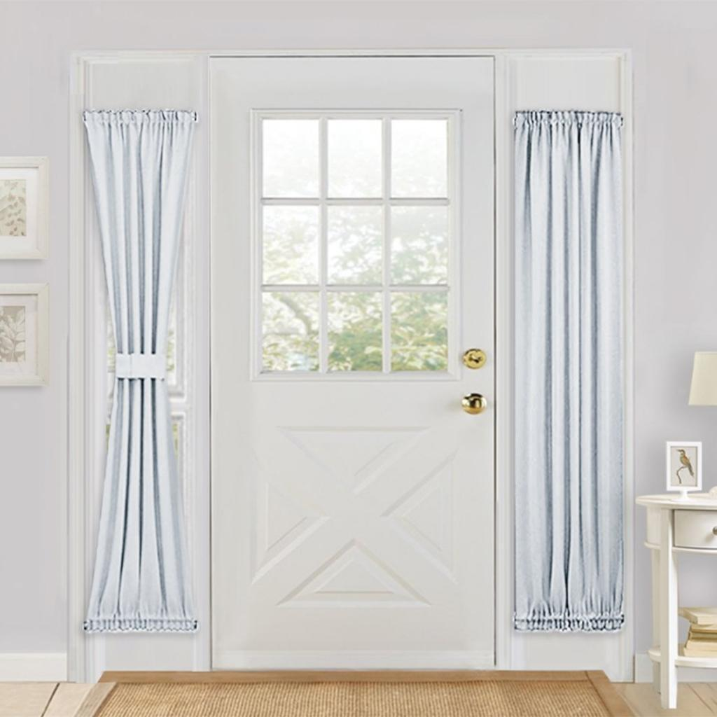 Solid-Color-Blackout-French-Door-Curtain-Panel-Rod-Pocket-Window-Treatment thumbnail 9