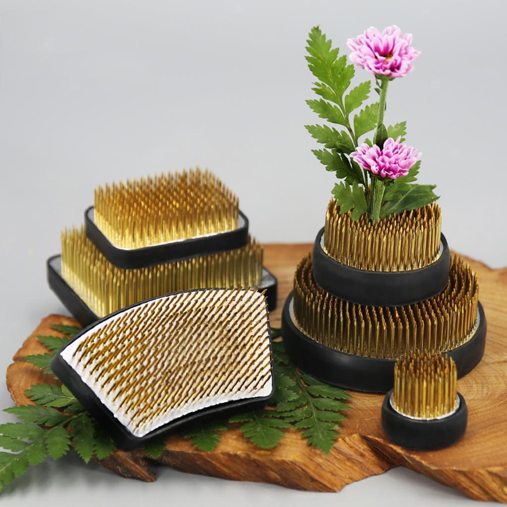 Ikebana-Kenzan-Spiky-Flower-Frog-Plant-Arranging-Fixed-Tool-Flower-Hobby thumbnail 3