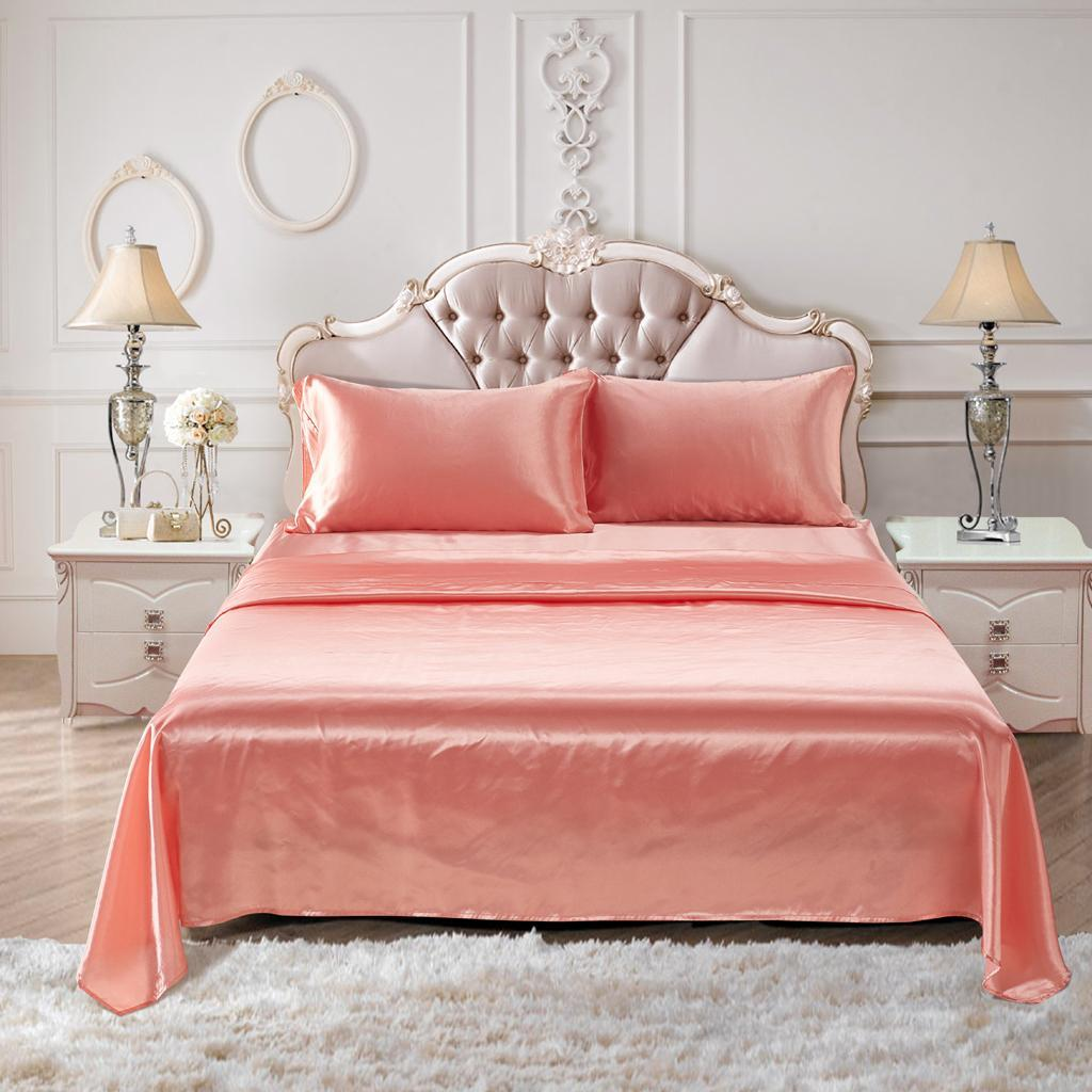 Comfort-Sheet-Set-Twin-Queen-King-Size-Bed-Flat-amp-Fitted-Sheet-amp-Pillowcases thumbnail 33