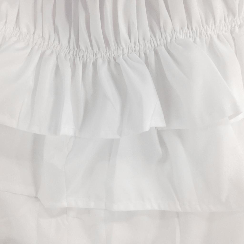 Blesiya-38cm-Drop-Bed-Skirts-Multi-Ruffle-Waterfall-Bedskirts-All-Sizes thumbnail 12