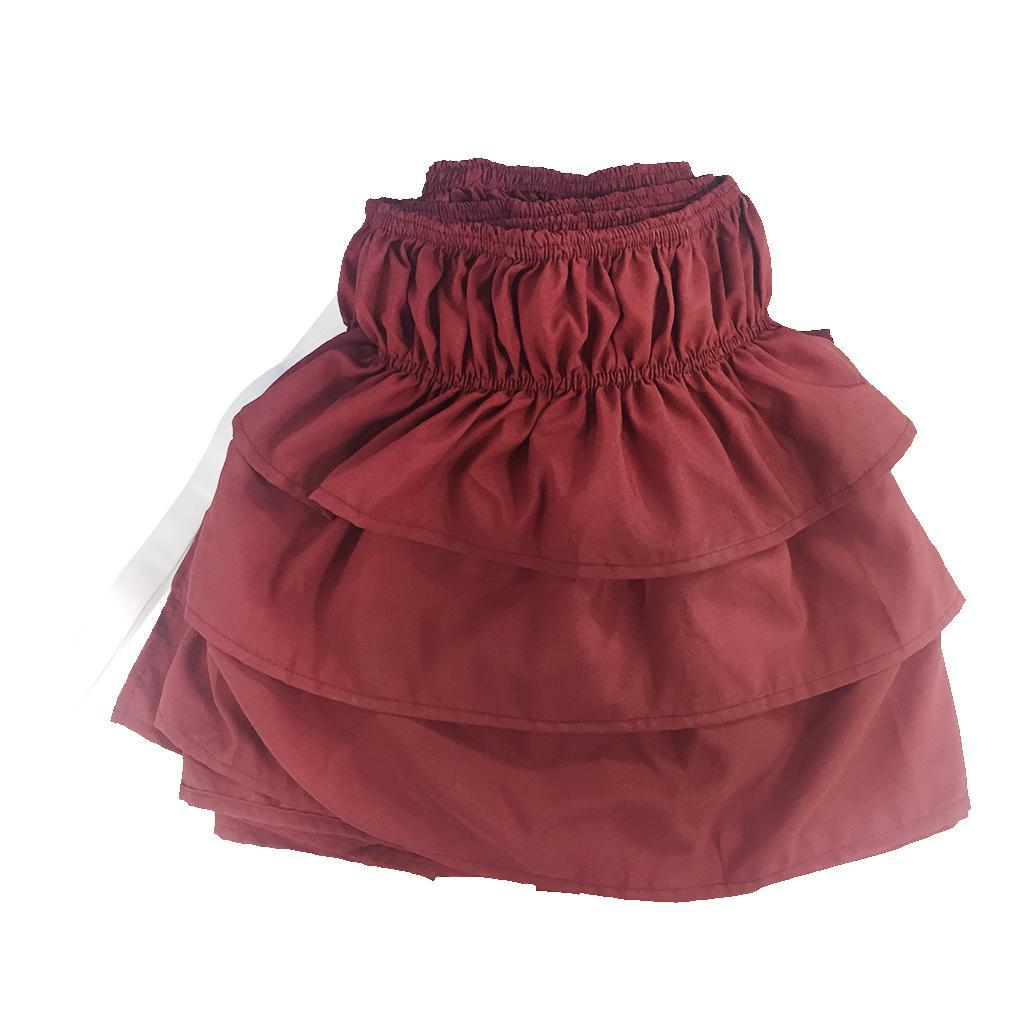 Blesiya-38cm-Drop-Bed-Skirts-Multi-Ruffle-Waterfall-Bedskirts-All-Sizes thumbnail 31