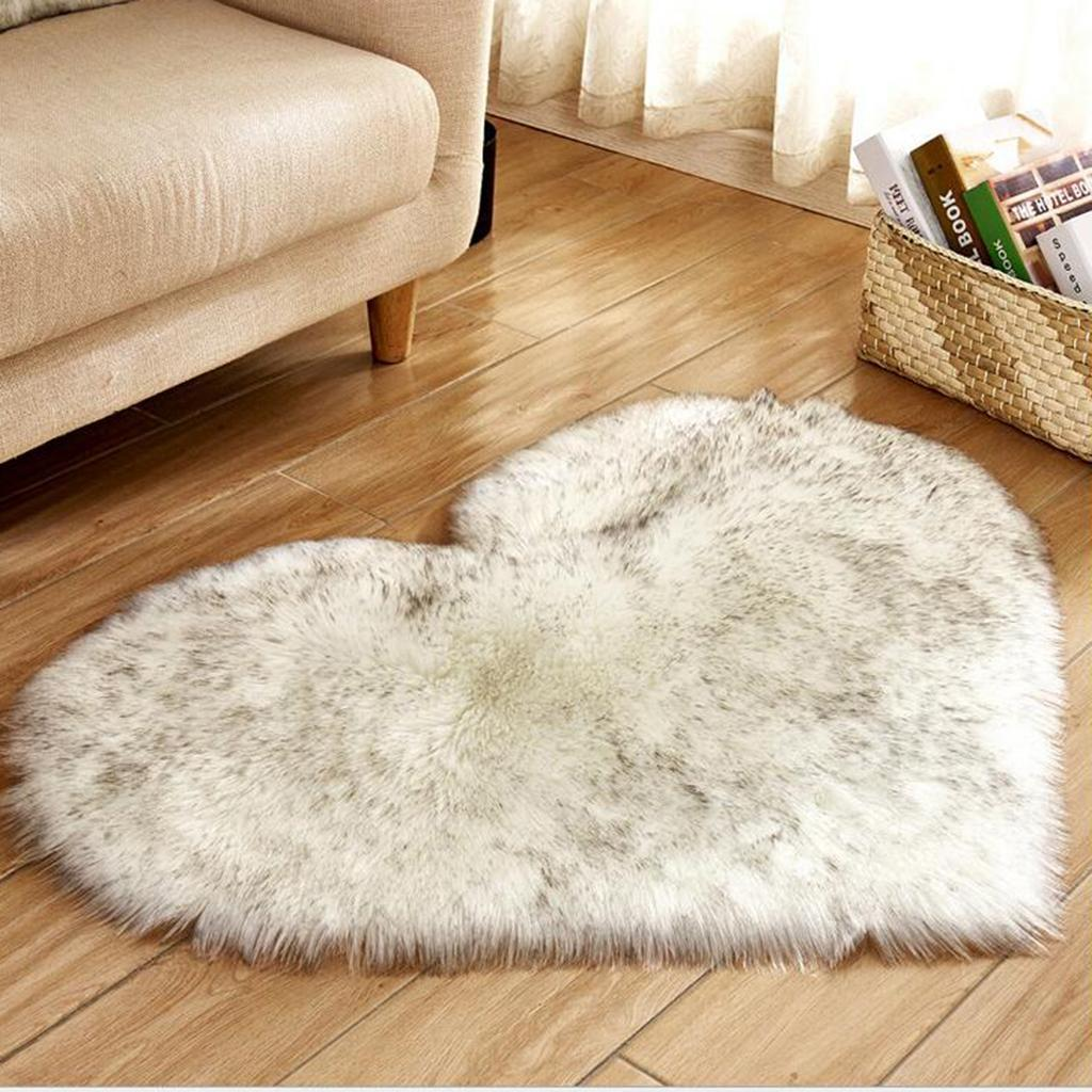 Dettagli su Fluffy Carpets Chair Couch Cover Area Tappeti Camera da letto  Shaggy Tappeti