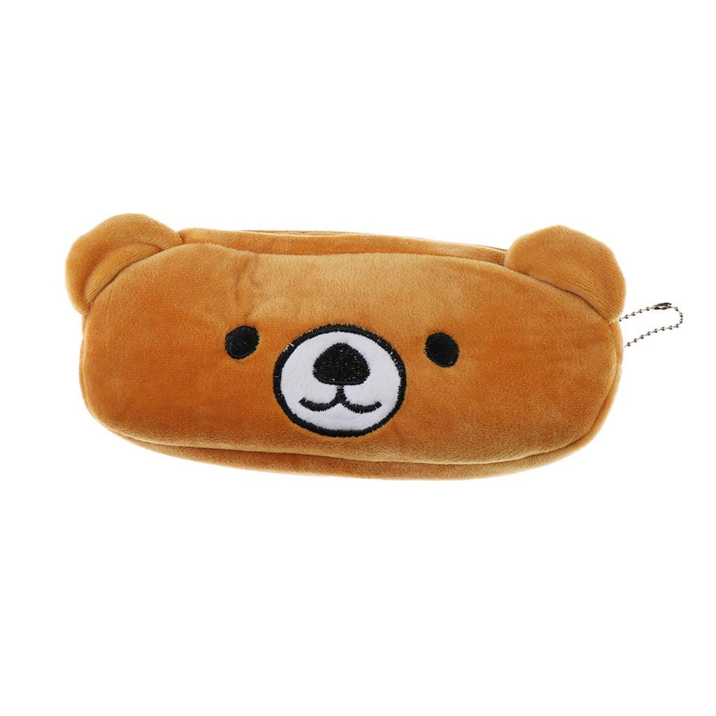 Pencil-Pouch-Plush-Stationery-Bag-Animal-Cosmetic-Bags-School-Supplies thumbnail 40